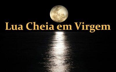 Lua Cheia em Virgem a 2 de Março de 2018